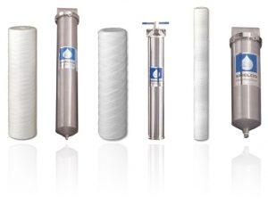 Shelco Filter, multi cartridge housings, single cartridge housings
