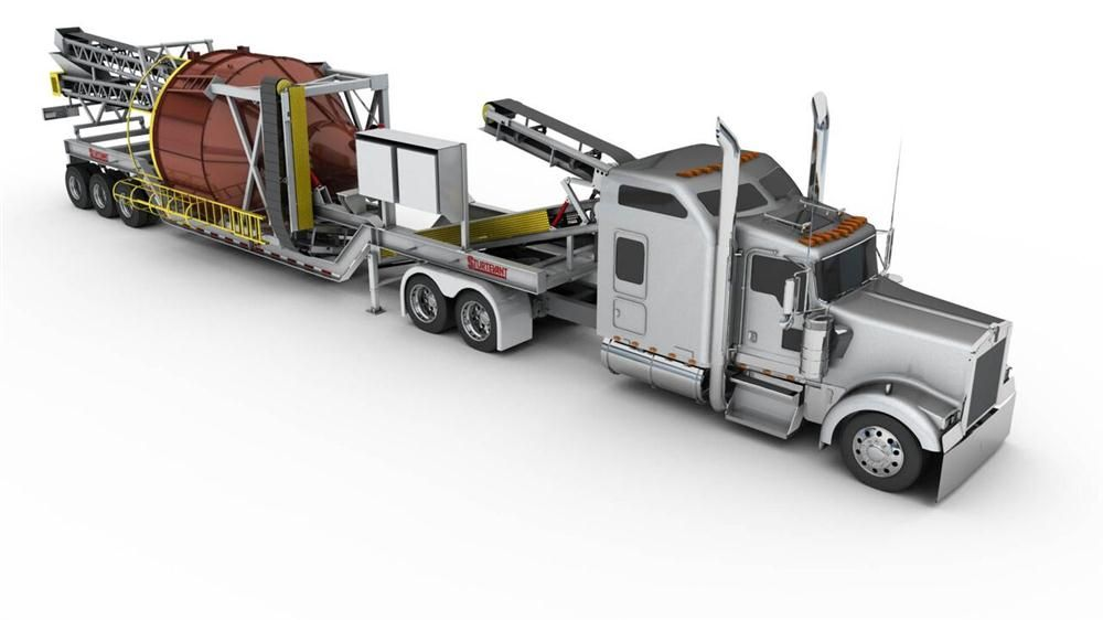 Sturtevant Air Classification System Goes Mobile
