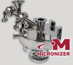 Micronizer with Logo